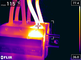 Thermographic investigations
